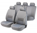Car Seat Cover Thames gray