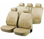 Car Seat Cover Artificial Leather nappa touch beige