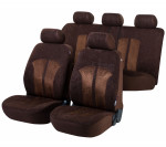 Car Seat Cover Velvet brown