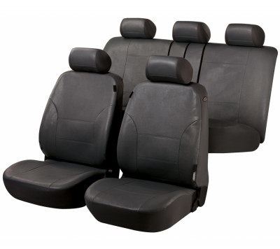 Car Seat Cover Artificial Leather Sussex gray