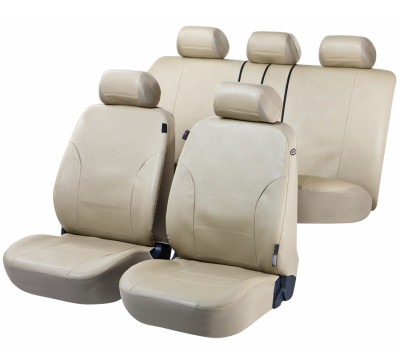 Car Seat Cover Artificial Leather Sussex mudgreen