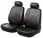 Car Seat Cover Artificial Leather soft nappa black front seats