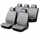 Car Seat Cover Artificial Leather soft nappa gray