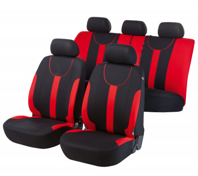 Car Seat Cover Dorset red