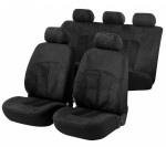 Car Seat Cover Velvet black