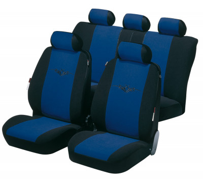 Car Seat Cover Danakil blue