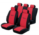 Car Seat Cover Danakil red