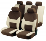 Car Seat Cover Dubai beige brown