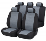 Car Seat Cover Positano gray