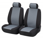 Car Seat Cover Positano for front seats gray