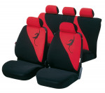 Car Seat Cover Lotus red