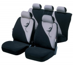Car Seat Cover Lotus gray