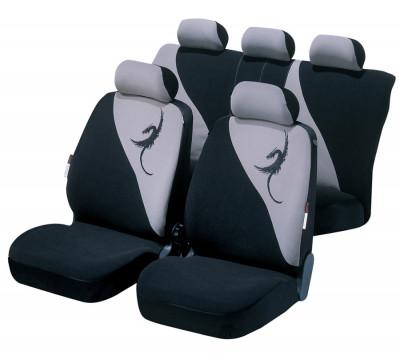 Car Seat Cover Lotus gray