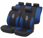 Car Seat Cover Dragon blue