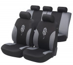 Car Seat Cover Dragon gray