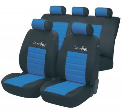 Car Seat Cover Sportline blue