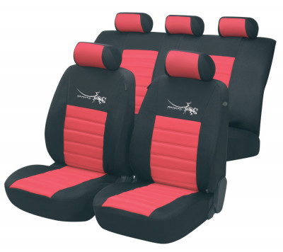 Car Seat Cover Sportline red