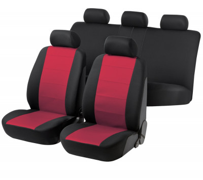 Car Seat Cover Speed red