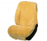 Car Seat Cover Lambskin beige