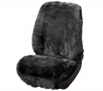 Car Seat Cover Lambskin anthracite