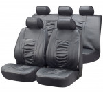Car Seat Cover Artificial Leather Raphael gray