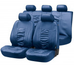 Car Seat Cover Artificial Leather Raphael blue
