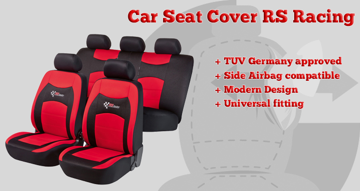 RS Racing car seat cover
